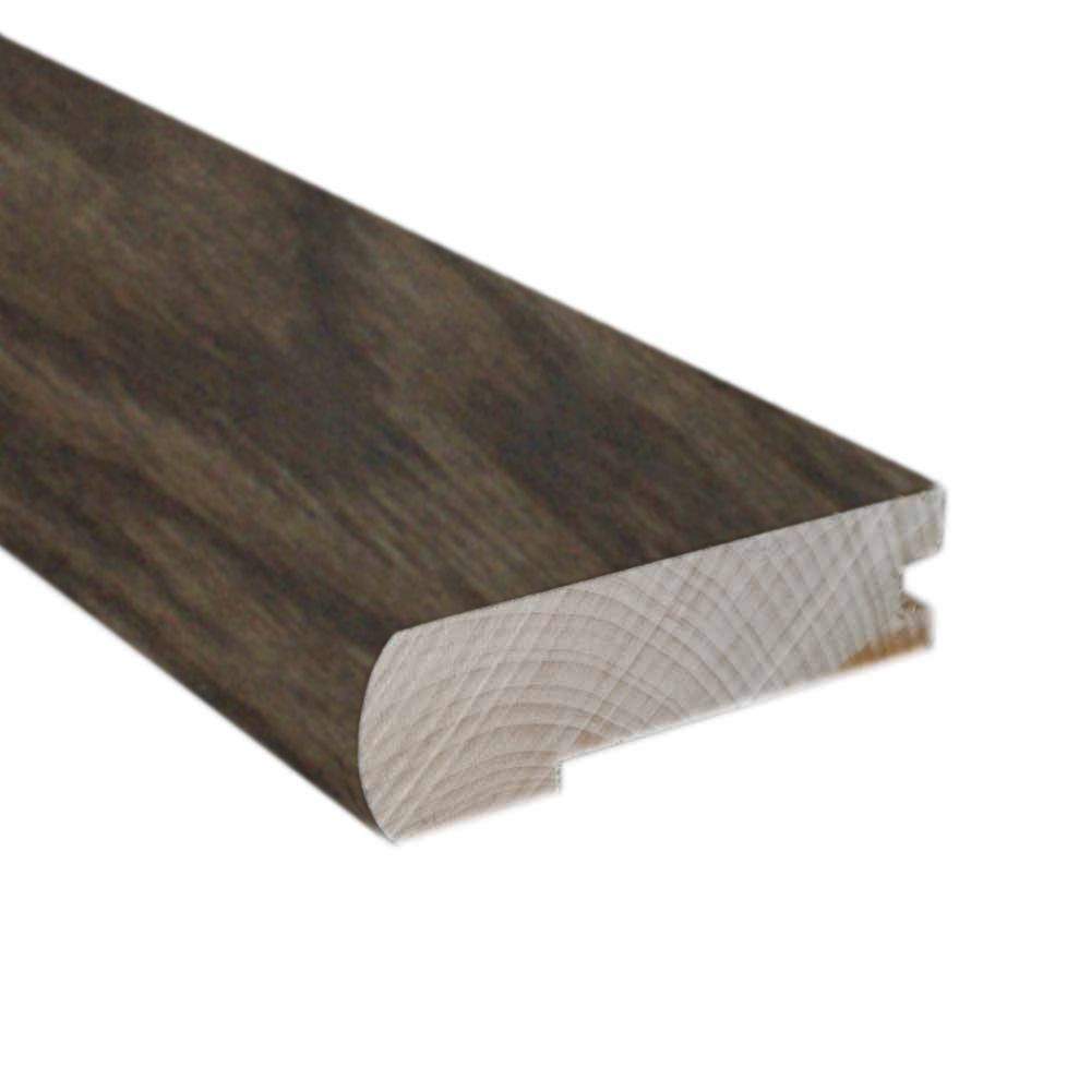 78 Inches Flush Mount Stair Nose-Matches Gray Oak Click Flooring