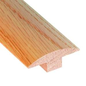 78 Inches T-Mold Matches Natural Red Oak Flooring