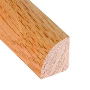 78 Inches Quarter Round Matches Natural Red Oak Flooring