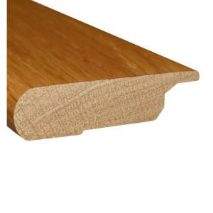 78 Inches Lipover Stair Nose Matches Natural Red Oak Flooring
