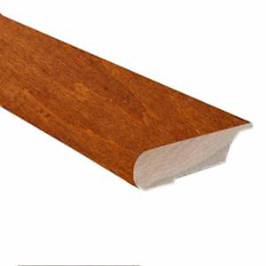 78-inches Hand Scraped Lipover Stair Nose Matches Spice Maple Click Flooring