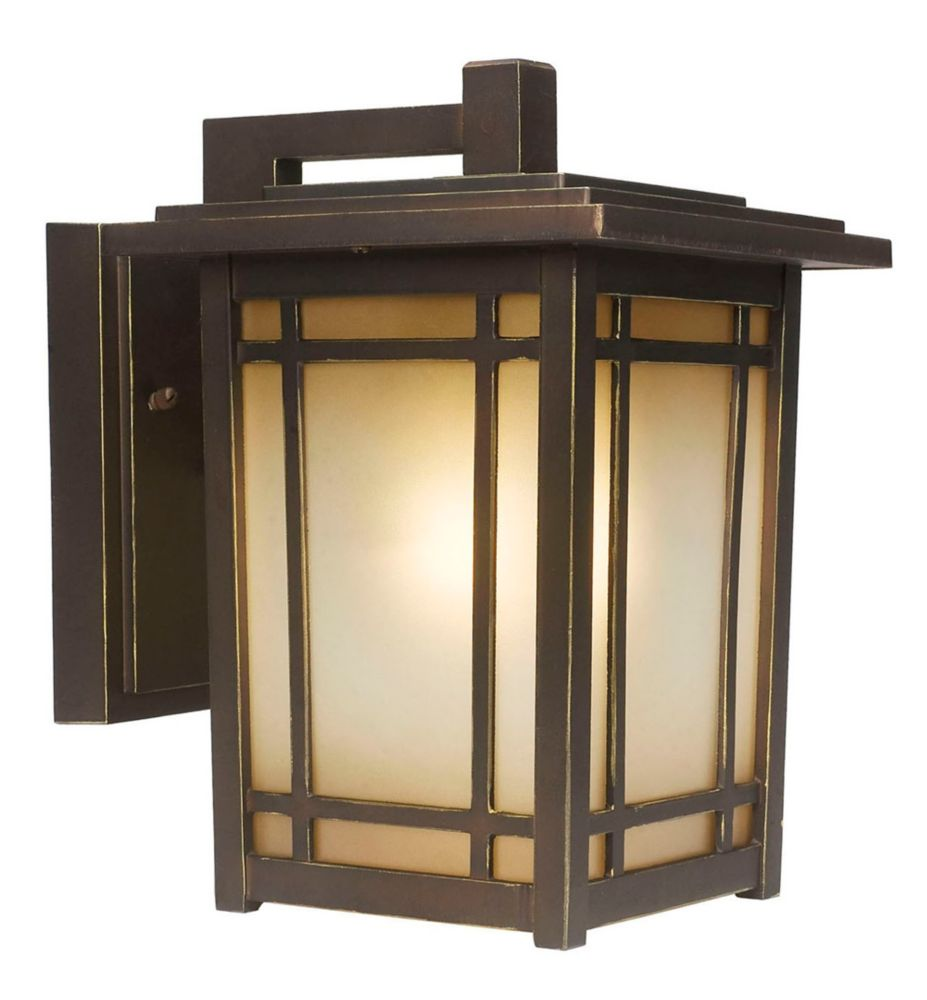Port Oxford 1 Light Oil Rubbed Chestnut Exterior Wall Lantern