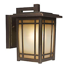 Port Oxford 1-Light Oil Rubbed Chestnut Outdoor Wall Lantern