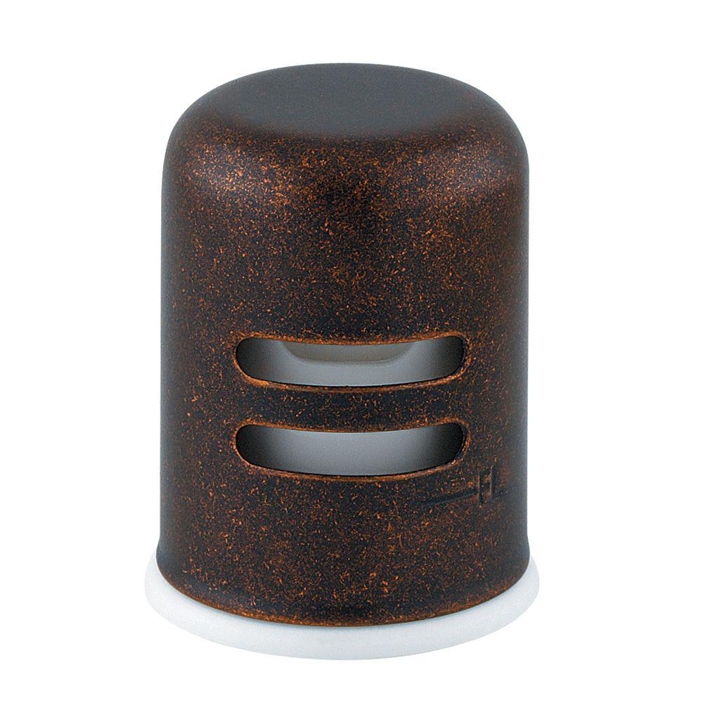 Coupure antiretour pour cuisine 1trou, fini Bronze rustique