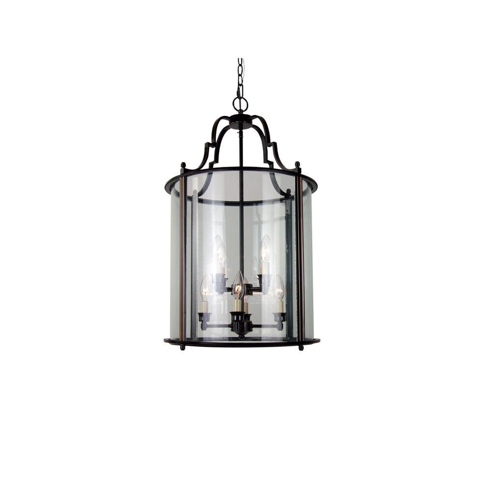 8 La Lumière Plafond Lanterne Bronze Terminer