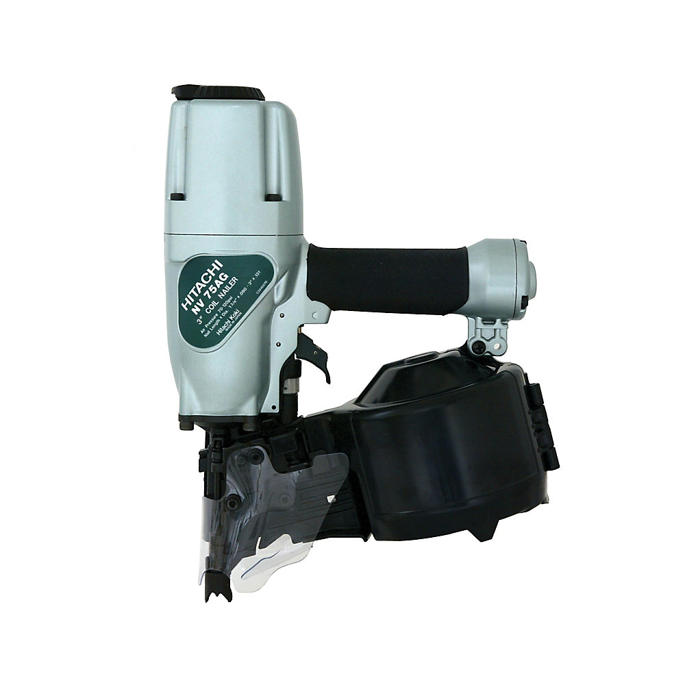 3-Inch Siding and Framing Nailer with Safety Glasses and 3-Hex Bar Wrenches