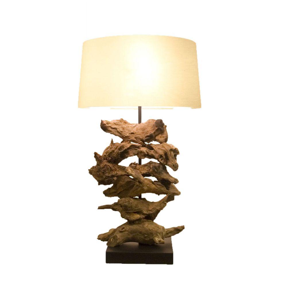 1 Light Table Lamp Pink Finish