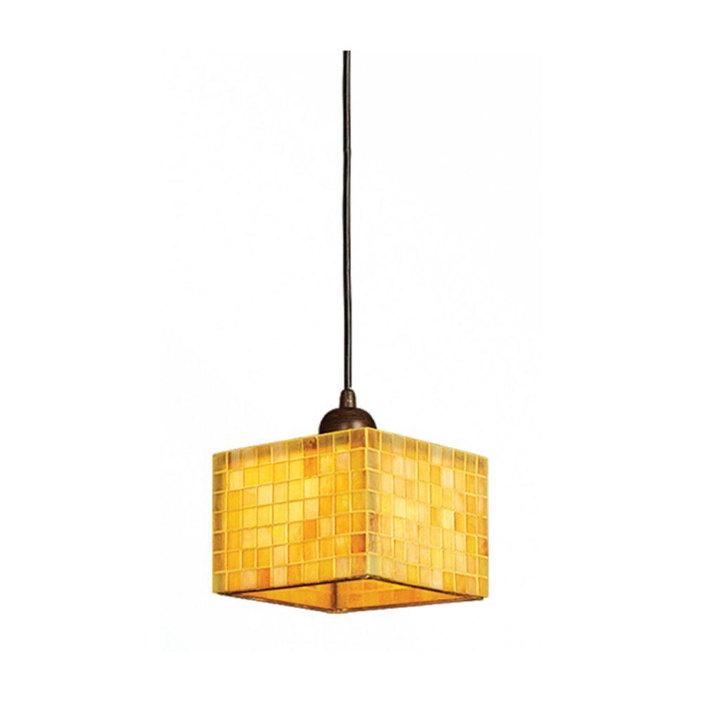 1 La Lumière Fixture Plafond Jaunir Terminer