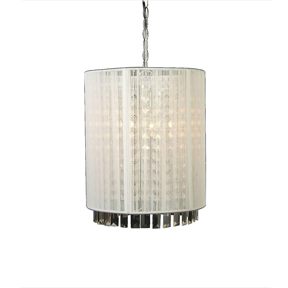 1 Light Ceiling Fixture Clear Finish