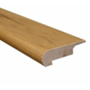 78 Inches Lipover Stair Nose Matches Natural Hickory Click Floor