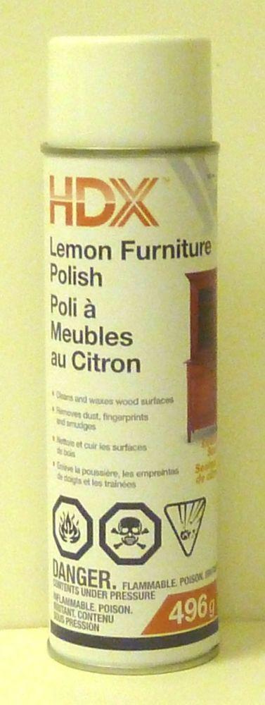 Poli À Meubles Au Citron