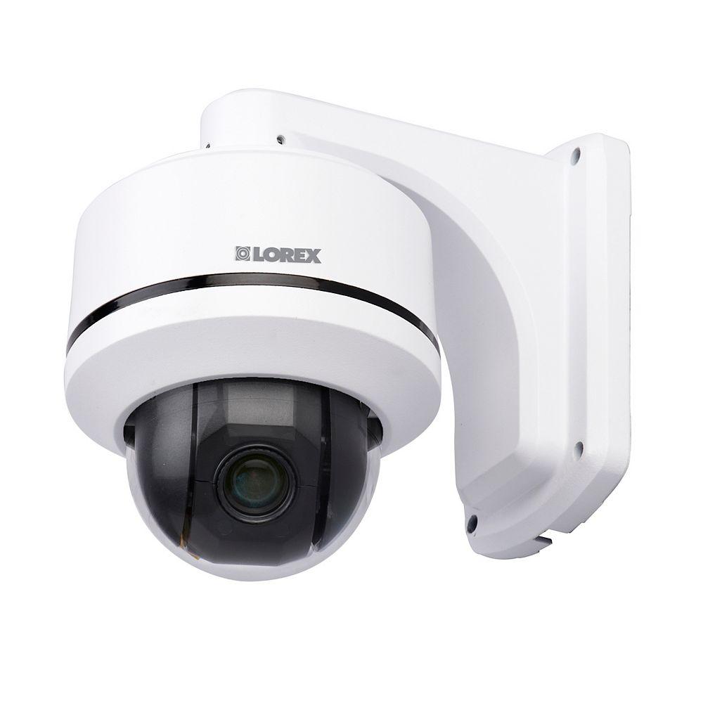 LOREX LZC7091B Super + Resolution 10x Pan-Tilt & Zoom Speed-Dome Camera