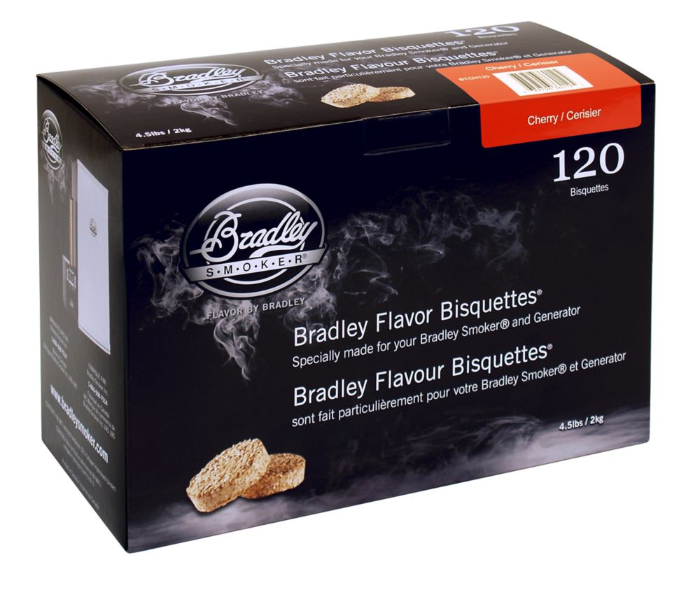 Cherry Smoking Bisquettes (120 Pack)
