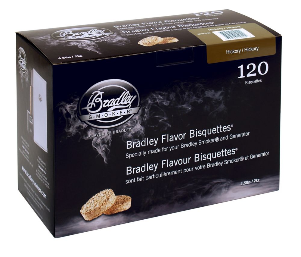 Hickory Smoking Bisquettes (120 Pack)