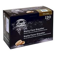 Hickory Smoking Bisquettes (120-Pack)