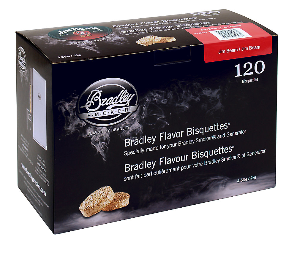 Bourbon Smoking Bisquettes (120-Pack)