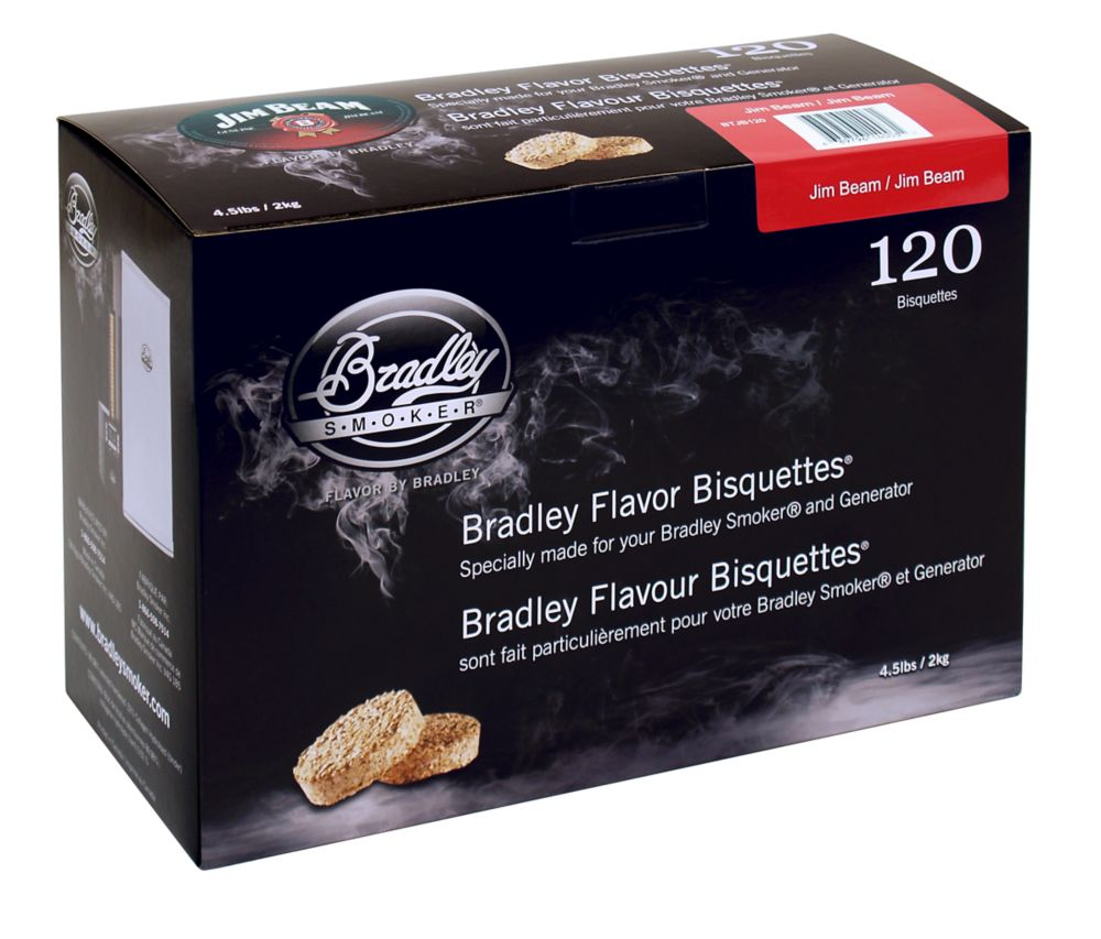 Bourbon Smoking Bisquettes (120 Pack)