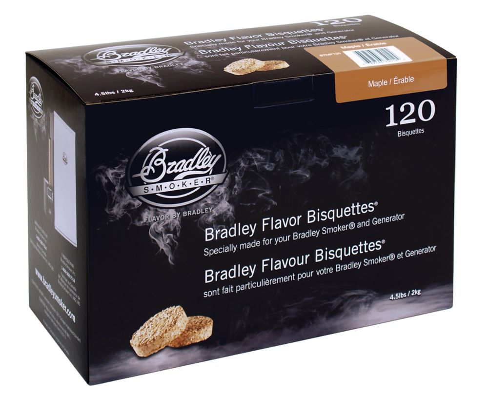 Maple Smoking Bisquettes (120 Pack)