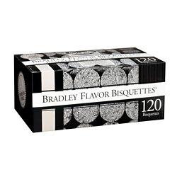 Bradley Smoker Paquet de 120 bisquettes pour fumage au mesquite
