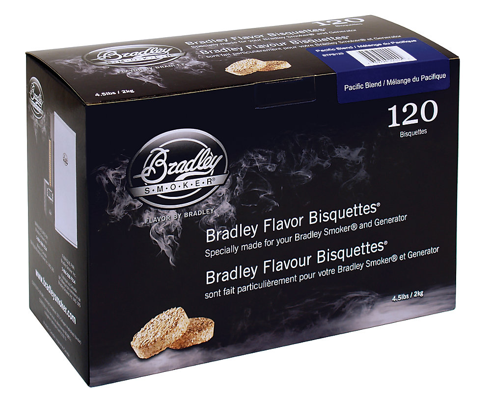 Pacific Blend Smoking Bisquettes (120-Pack)