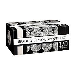 Bradley Smoker Paquet de 120 bisquettes pour fumage au pacanier