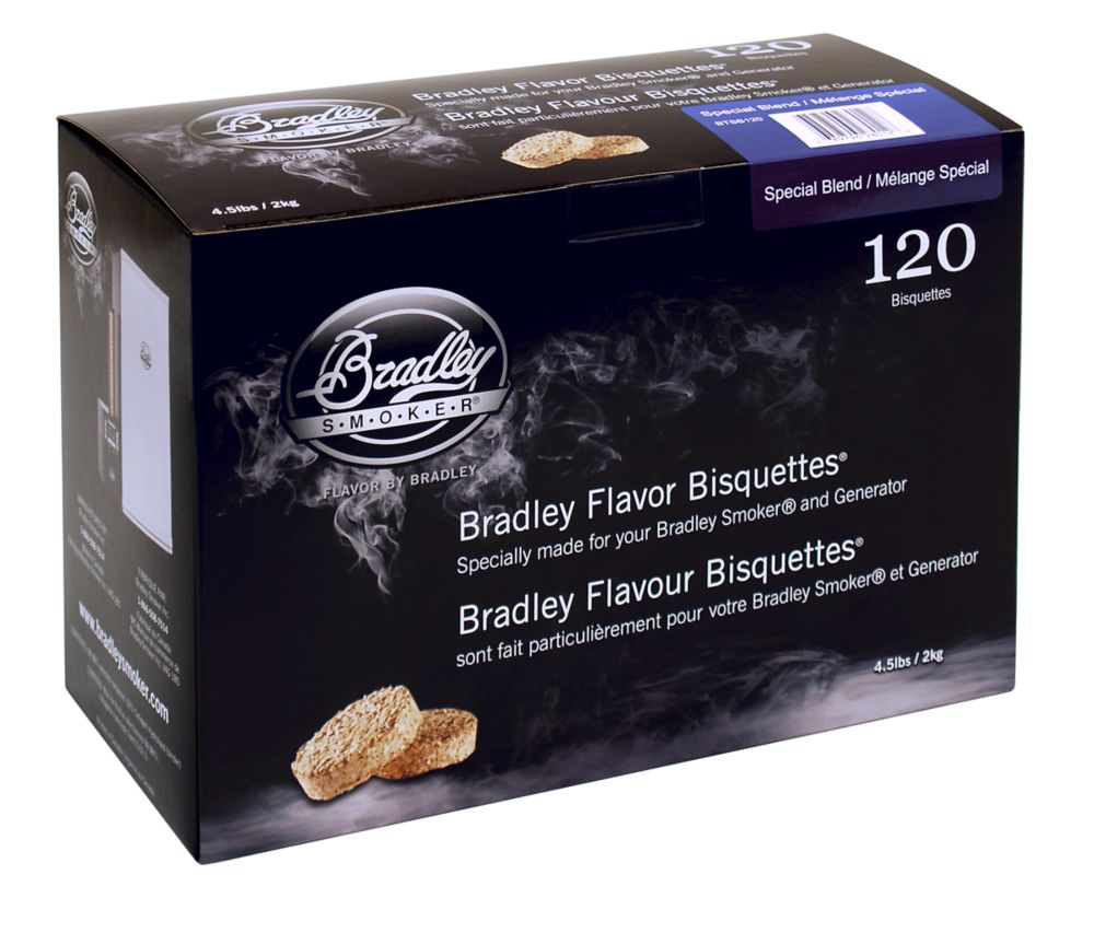 Special Blend Smoking Bisquettes (120 Pack)
