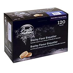 Paquet de 120 bisquettes pour fumage au Mélange Spécial
