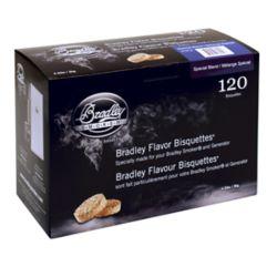 Bradley Smoker Paquet de 120 bisquettes pour fumage au Mélange Spécial