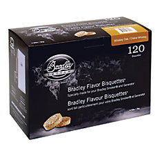 Whiskey Oak Smoking Bisquettes (120-Pack)