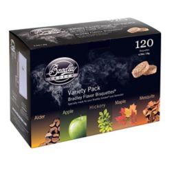 Bradley Smoker 5-Flavour Smoking Bisquette (120-Pack)
