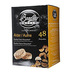 Alder Smoking Bisquettes (48-Pack)