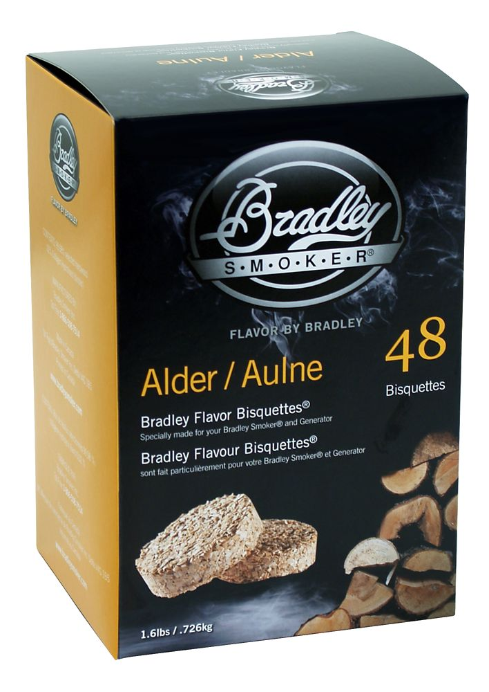 Alder Smoking Bisquettes (48 Pack)