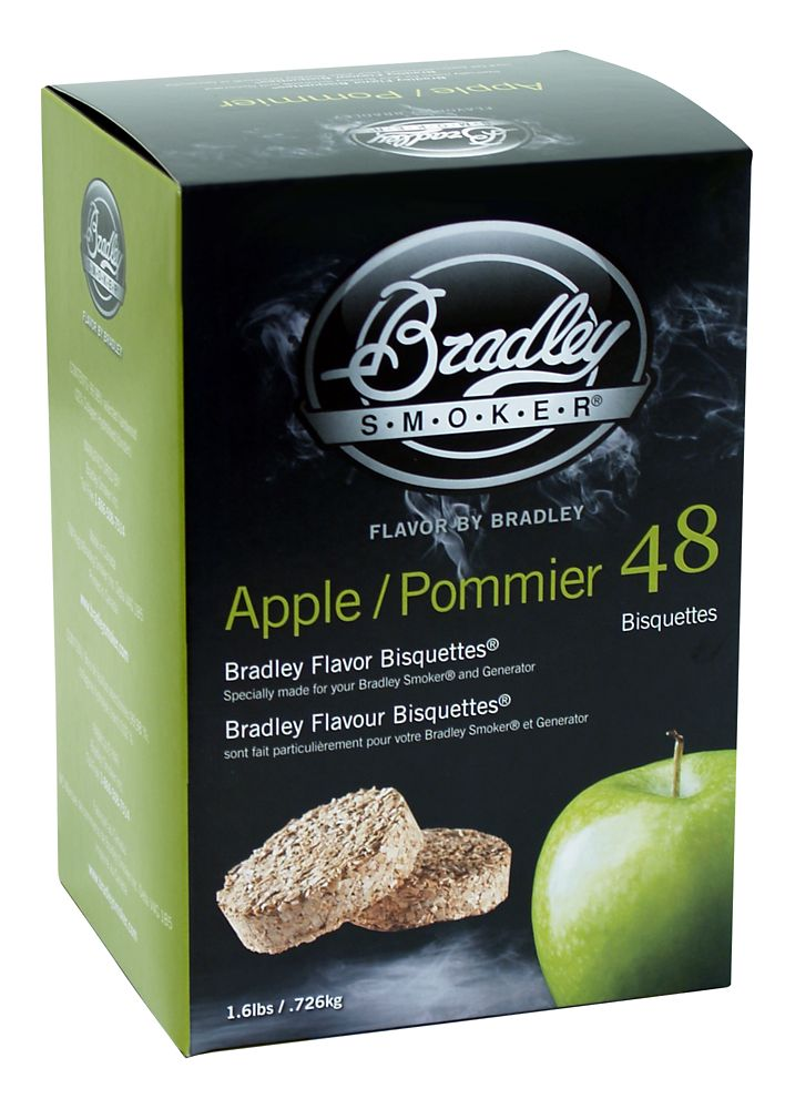 Apple Smoking Bisquettes (48 Pack)