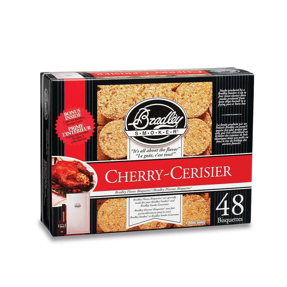 Bradley Smoker Cherry Smoking Bisquettes (48-Pack)