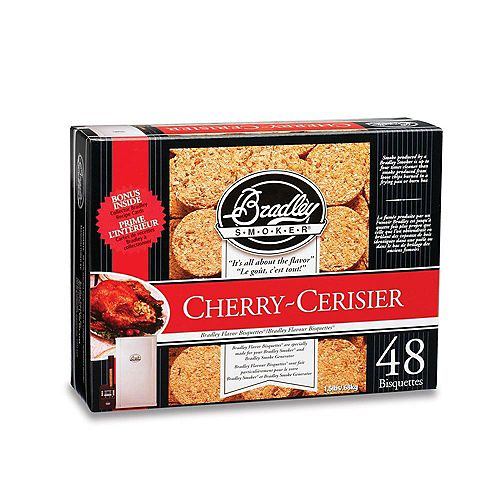 Bradley Smoker Cherry Smoking Bisquettes (48-Pack)