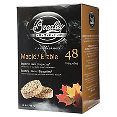 Maple Smoking Bisquettes (48-Pack)