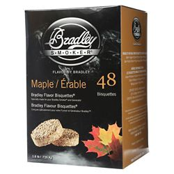 Bradley Smoker Maple Smoking Bisquettes (48-Pack)