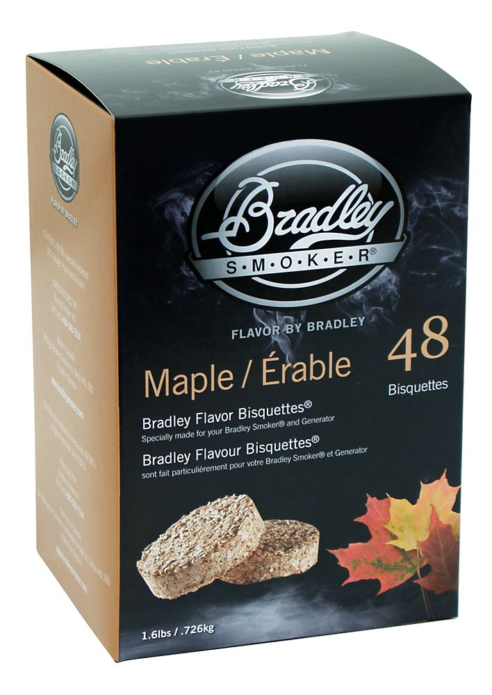 Maple Smoking Bisquettes (48 Pack)
