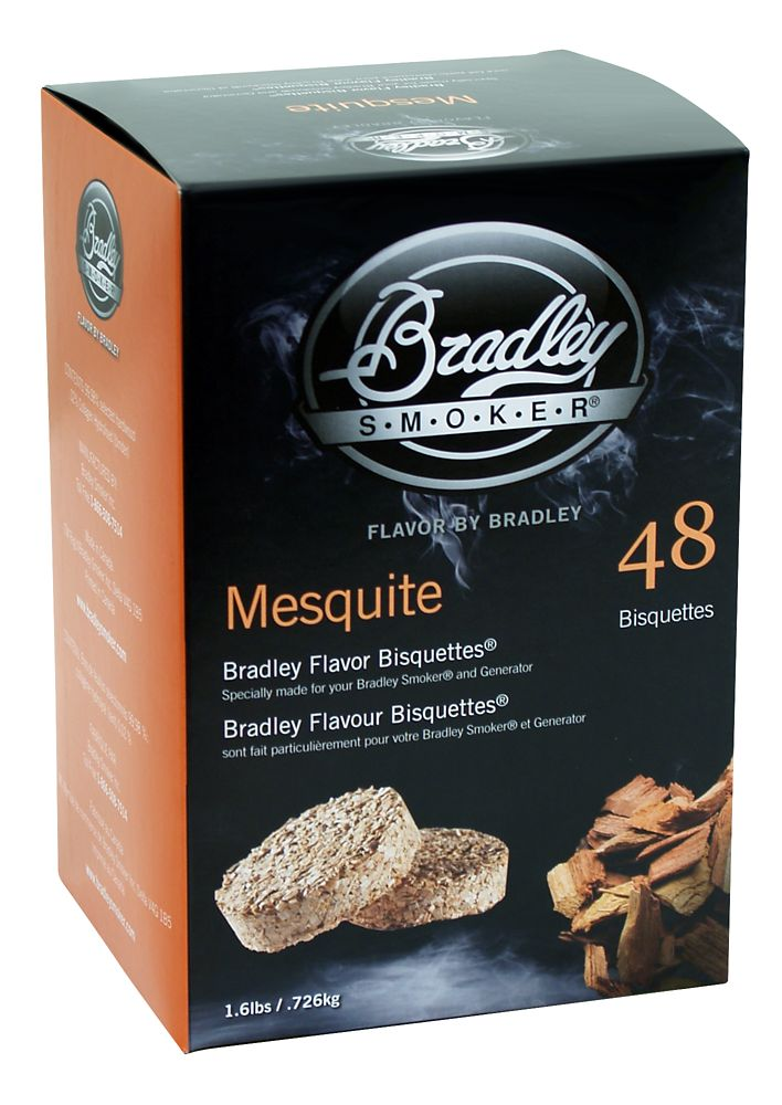 Mesquite Smoking Bisquettes (48 Pack)