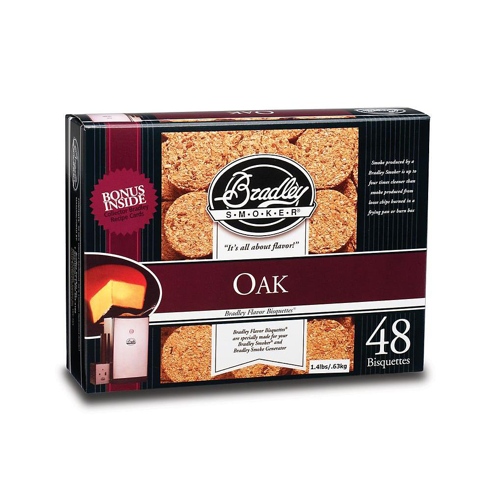 Oak Smoking Bisquettes (48-Pack)