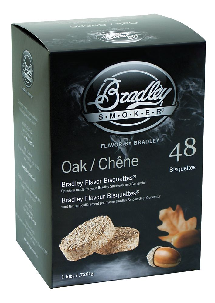 Oak Smoking Bisquettes (48 Pack)