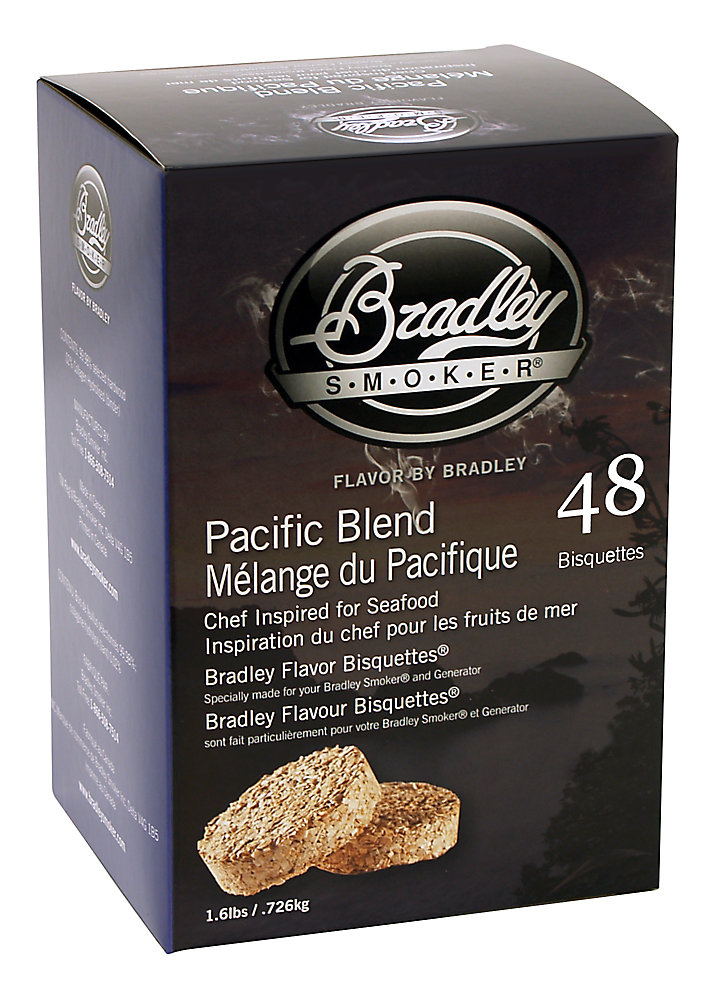 Pacific Blend Smoking Bisquettes (48-Pack)