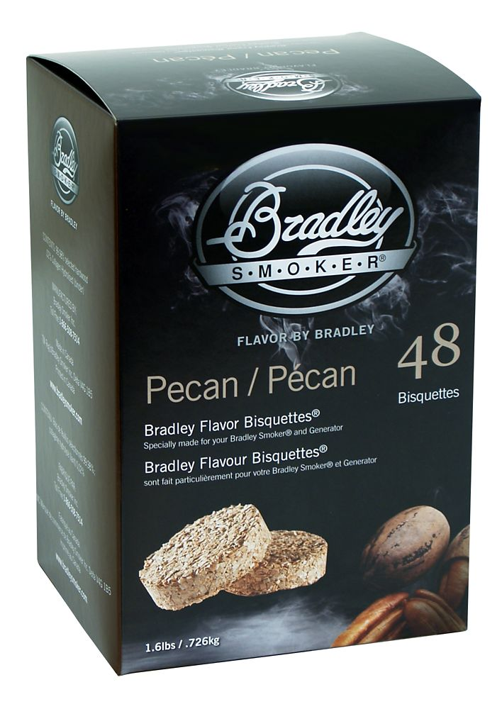 Pecan Smoking Bisquettes (48 Pack)