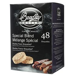 Bradley Smoker Special Blend Smoking Bisquettes (48-Pack)
