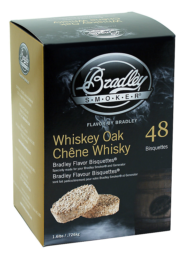 Whiskey Oak Smoking Bisquettes (48-Pack)