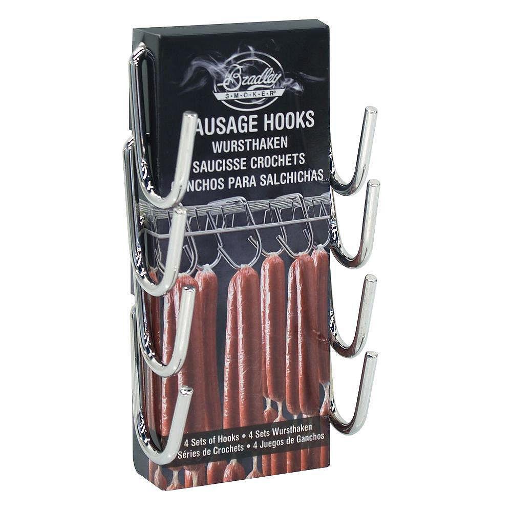 Bradley Smoker Sausage Hooks (4-Pack)