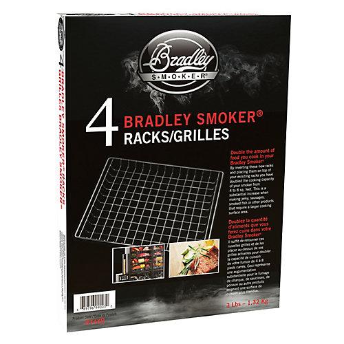 11-inch x 13-inch Wire Smoker Rack (4-Pack)