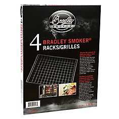 11-inch x 13-inch Wire Smoker Rack (4-Pack)