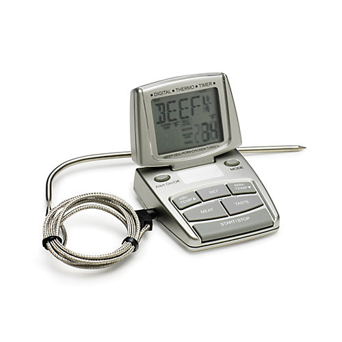 Digital Meat Thermometer with Alarm