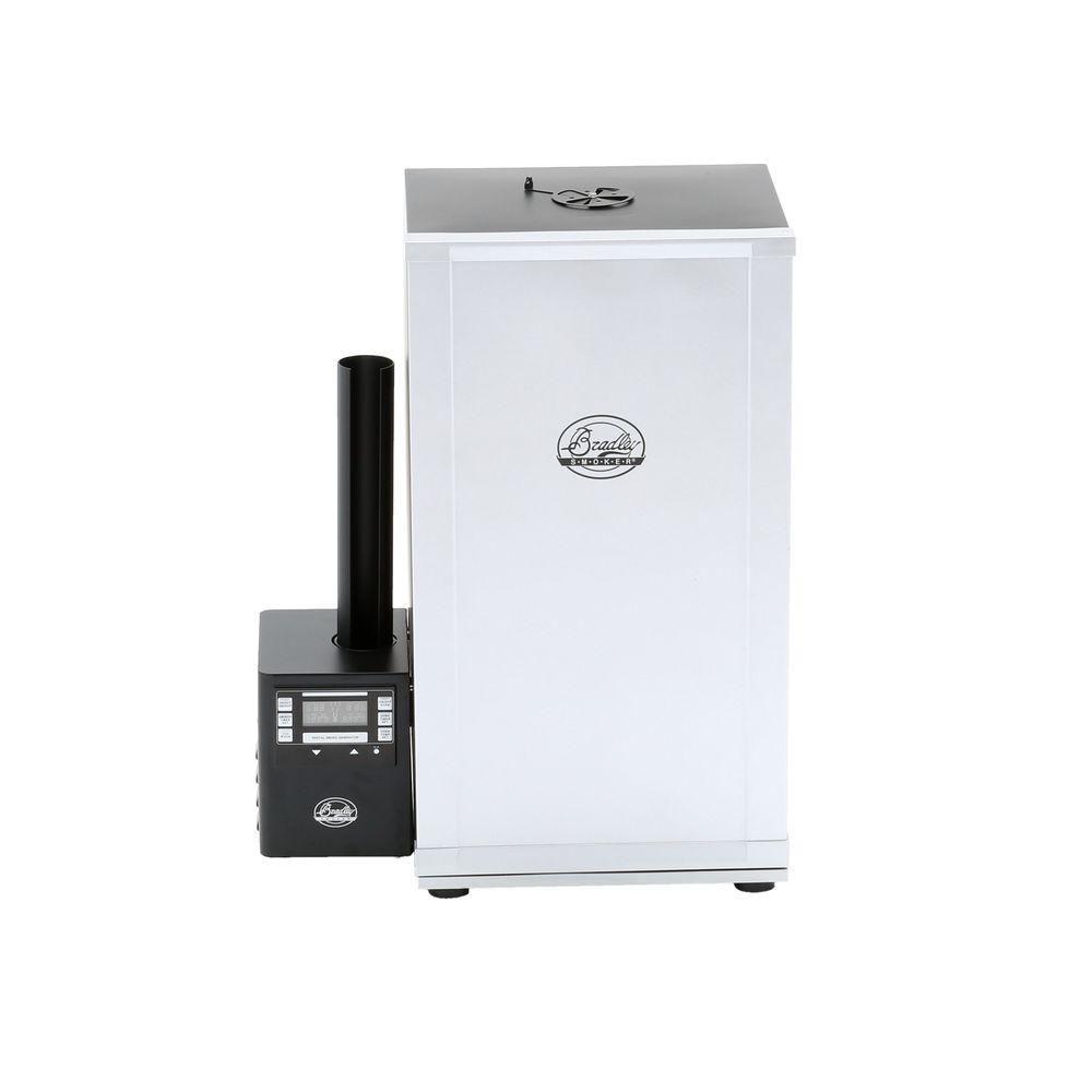Fumoir isolé, numérique et automatique à 4 grilles